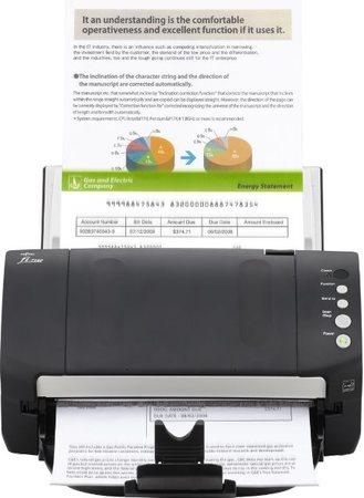 Fujitsu fi-7140, A4, duplex, 40/80 ipm, color, USB, ultrazvuk, ADF 80, PFU:PA03670-B101
