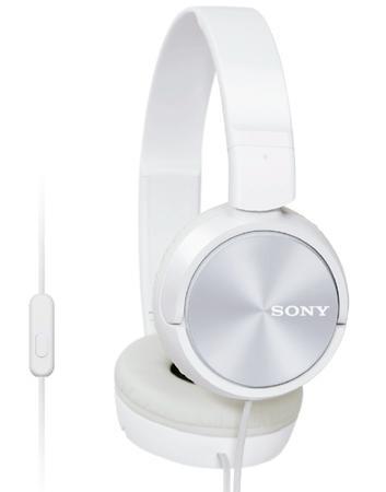 Sluchátka Sony MDRZX310APW.CE7 - bílá