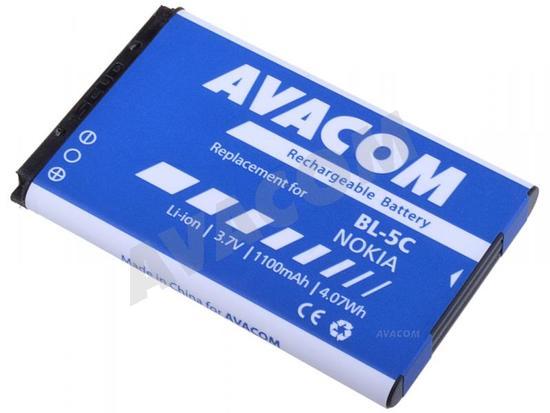 Baterie AVACOM GSNO-BL5C-S1100A 1100mAh - neoriginální