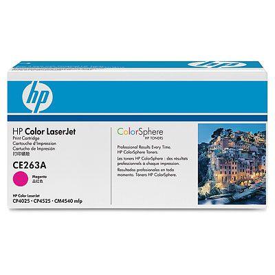 HP CE263A Toner 648A pro CLJ CP4025/4525, (11 000str), Magenta, CE263A