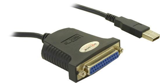 Delock konvertor USB->Paralelní 25-pin (matice) 0,8 m