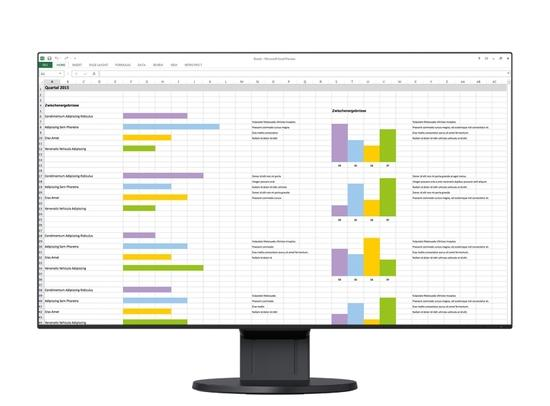 "EIZO 24"" EV2451-BK, 1920 x 1080, IPS,16:9, 5ms, 250 cd/m2, 1000:1, DP/HDMI/DVI/Dsub, ultraslim 1 mm rám., černý, EV2451-BK"
