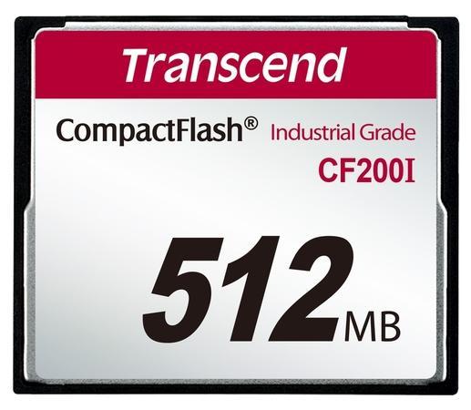 Transcend CompactFlash 512MB Industrial TS512MCF200I