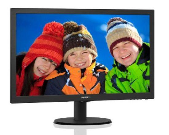 "Monitor Philips 223V5LHSB2 21.5"",LED, TFT, 5ms, 600:1, 200cd/m2, 1920 x 1080,, 223V5LHSB2/00"
