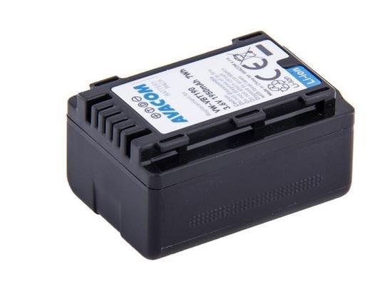 Náhradní baterie AVACOM Panasonic VW-VBT190 Li-Ion 3.6V 1950mAh 7Wh