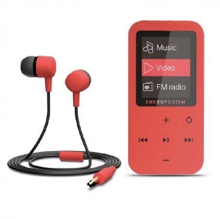 ENERGY MP4 Touch Coral (8GB, MicroSD, FM, sluchátka)