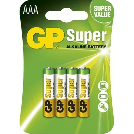 GP Super Alkaline AAA 4ks 1013114000