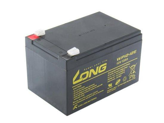 Long 12V 12Ah olověný akumulátor F2, PBLO-12V012-F2A