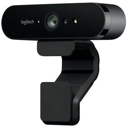 Logitech webkamera BRIO 4K, 5x zoom, RightLight™ 3 s HDR, černá, 960-001106