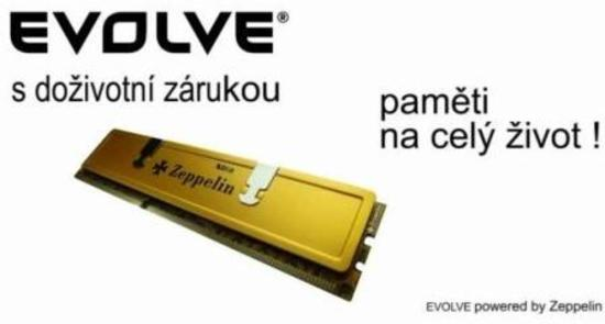 EVOLVEO Zeppelin DDR III 8GB 1600 MHz CL11, GOLD, box, doživotní záruka