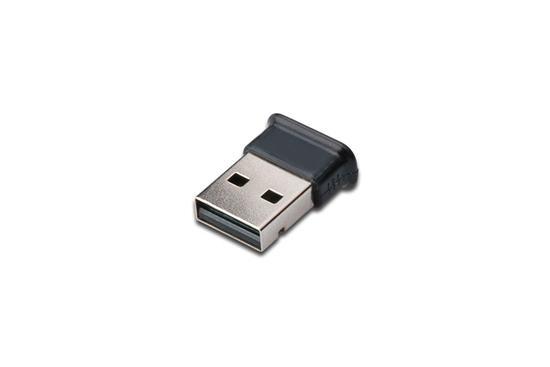 Digitus USB Bluetooth V4.0 + EDR micro adaptér, Broadcom 20702 Chipset, Win 7, Vista