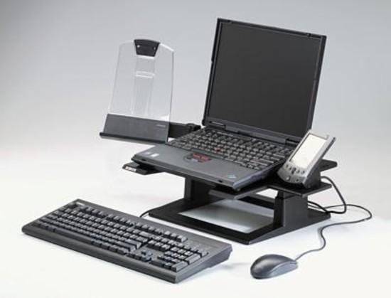 3M Nastavitelný podstavec pod notebook, 33 x 33x 10,2-15,2 cm (LX500), FT-5100-9168-7