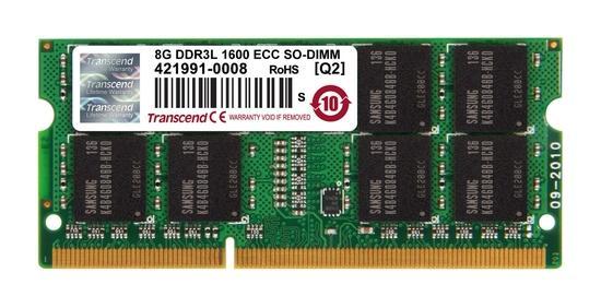 Transcend paměť SODIMM DDR3 8GB 1600MHz, 2Rx8, CL11, TS1GSK72W6H