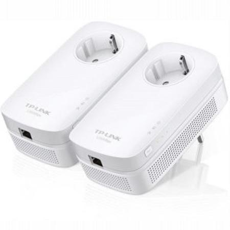 TP-Link TL-PA8010P powerline starter KIT (2ks), AV1200, 1x Gigabit LAN, průchozí zásuvka, TL-PA8010PKIT