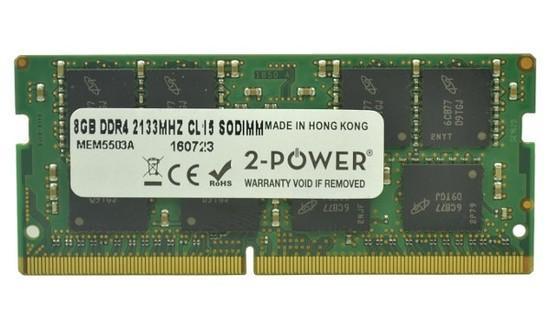 2-Power 8GB PC4-17000S 2133MHz DDR4 CL15 Non-ECC SoDIMM 2Rx8 (DOŽIVOTNÍ ZÁRUKA), MEM5503A