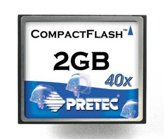 Pretec CompactFlash 2GB PCACF2G