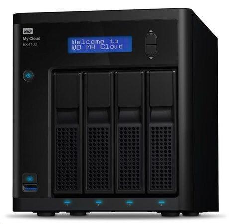 """WD My CLOUD EX 4100, 24 TB (4x6TB) 3,5"""", RJ45, NAS, WDBWZE0240KBK-EESN"""