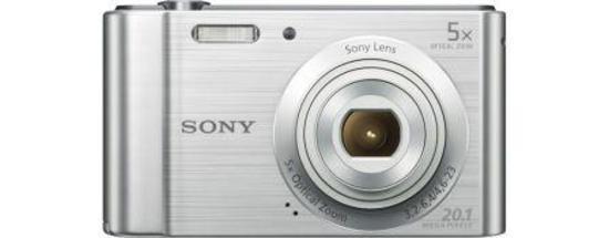 """SONY DSC-W800S 20,1 MP, 5x zoom, 2,7 """" LCD - Silver"""