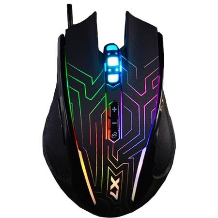 A4tech X87 Oscar Neon herní myš, USB, 2400DPi, 7 efektů podsvícení, X87