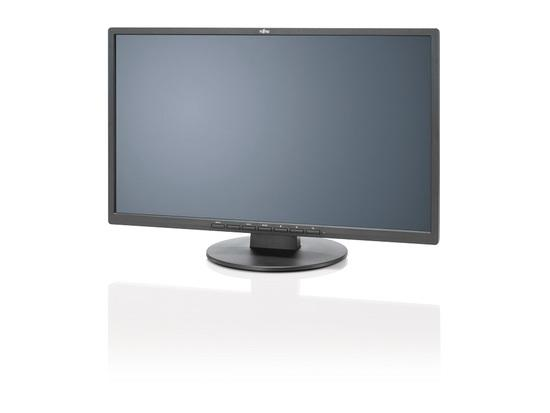 """Fujitsu 22"""" E22-8 TS PRO Black 1920 x 1080/20M:1/5ms/250cd/DP/VGA/DVI/repro, S26361-K1603-V160"""