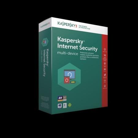 Kaspersky Internet Security CZ, 1 zařízení, 2 roky, obnovení licence, elektronicky, KL1939XCADR