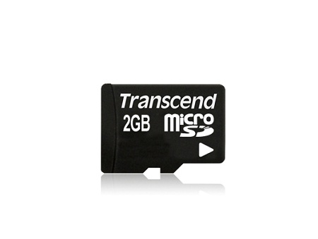 Transcend microSD 2GB TS2GUSDC