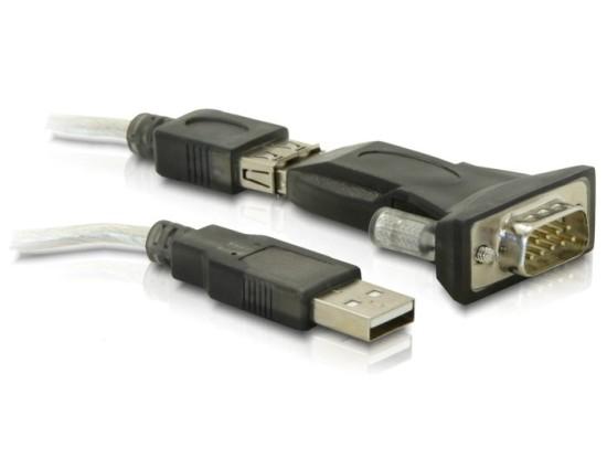 DeLock Konvertor USB 2.0->COM DB9, 61425
