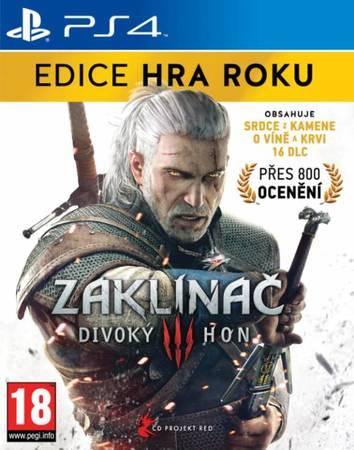 CENEGA Zaklínač 3:Divoky Hon-EDICE HRA ROKU PS4
