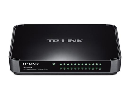 TP-Link TL-SF1024M Desktop Switch 24x 10/100Mbps, plastové šasi, TL-SF1024M