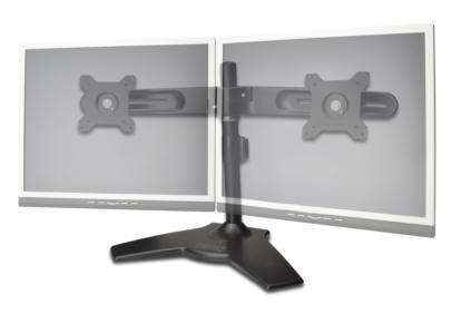 Trojitý stolní držák na monitory Digitus, DA-90322