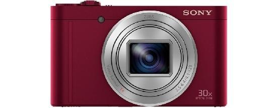 "SONY DSC-WX500 18,2 MP, 30x zoom, 3 "" LCD - RED"