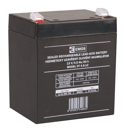 EMOS B9653 12V/4,5Ah 1201000700