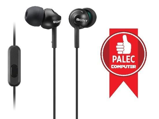 Sluchátka Sony MDR-EX110AP - černá