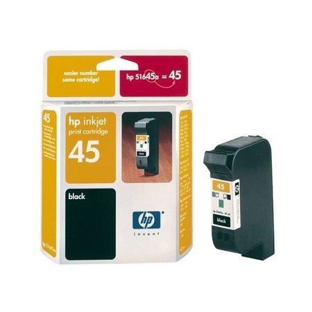 Inkoustová náplň HP 45, 930 stran - černá, 51645AE