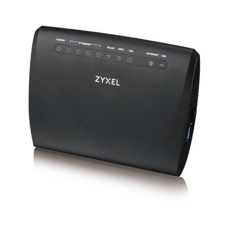 Zyxel VMG3312, VDSL2 profile 17a over POTS Gateway, GbE WAN, 4FE LAN, 1 USB 2.0, WiFi 11n 2.4GHz 300Mbps, EU+UK STD vers, VMG3312-T20A-CZ01V1F