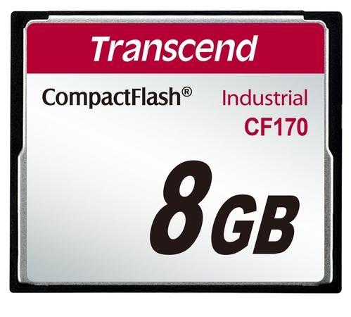 Transcend CompactFlash 8GB Industrial TS8GCF170
