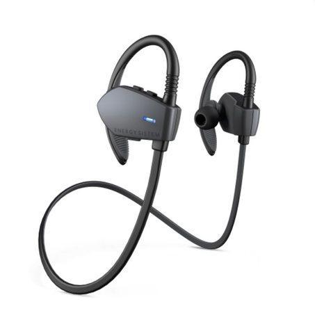 Energy Earphones Sport 1 Bluetooth Graphite, Bluetooth sluchátka s mikrofonem