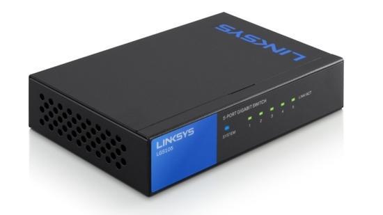 Linksys SMB switch LGS105 5-port Gigabit , LGS105-EU