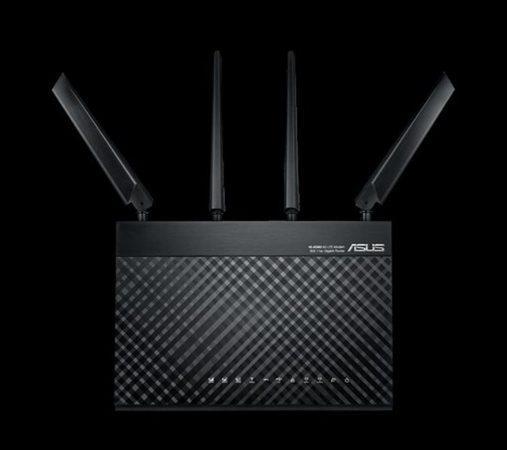 ASUS 4G-AC68U, AC1900 dvoupásmový LTE Wi-Fi modemový Router s rodičovským zámkem a funkcí hostující sítě, 90IG03R1-BM2000