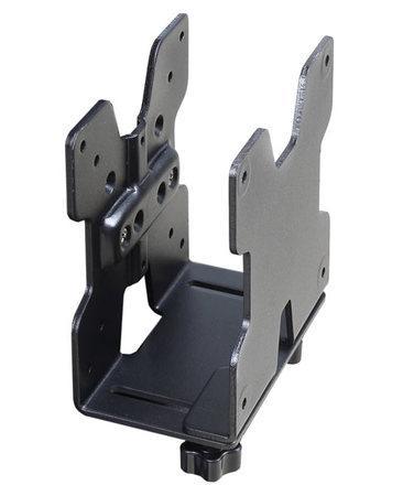 ERGOTRON THIN CLIENT CPU HOLDER, BLACK TEXTURED, držák pro tenkého klienta, kompatibilní s rameny a držáky, 80-107-200