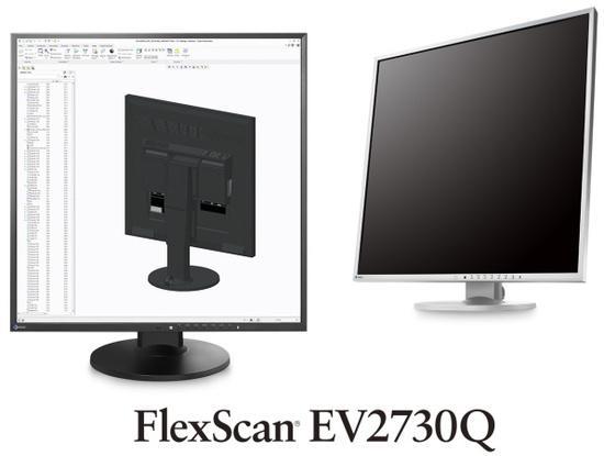 """EIZO LCD EV2730Q-BK 27"""" IPS-LED/1920 × 1920/1000:1/5ms/DVI/DP/Pivot/Repro/černý, EV2730Q-BK"""