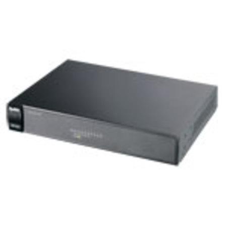"Zyxel ES1100-8P, 8-port 10/100Mbps Ethernet switch, 4x PoE (802.3af), Green (802.3az), Fanless, 19"" rackmount, ES1100-8P-EU0102F"