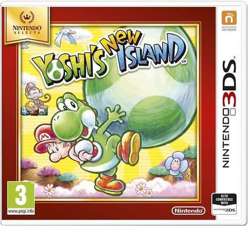 3DS Yoshi`s New Island Select