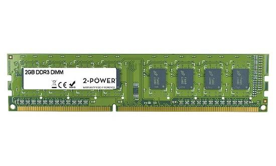 2-Power DDR3 2GB 1333MHz CL9 MEM2102A, MEM2102A