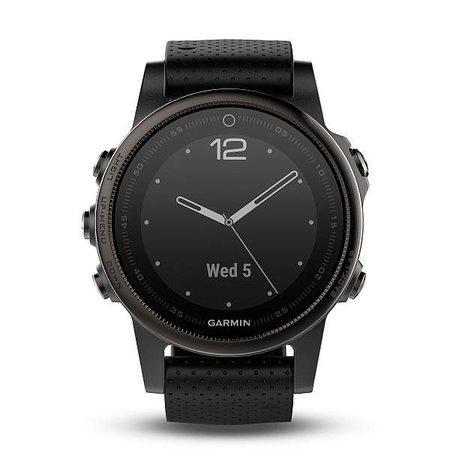 Garmin fenix5S Sapphire Gray Optic Black