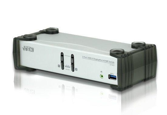 ATEN 2-Port USB 3.0 DisplayPort KVMP Switch, CS1912-AT-G