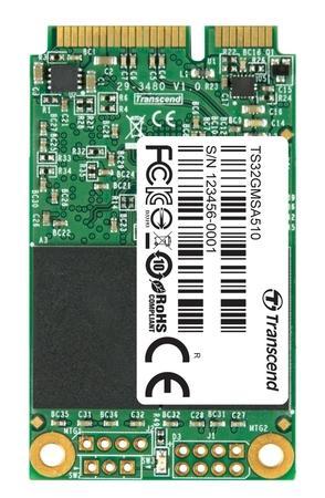 TRANSCEND MSA510 32GB SSD disk mSATA, SATA III (SuperMLC), TS32GMSA510