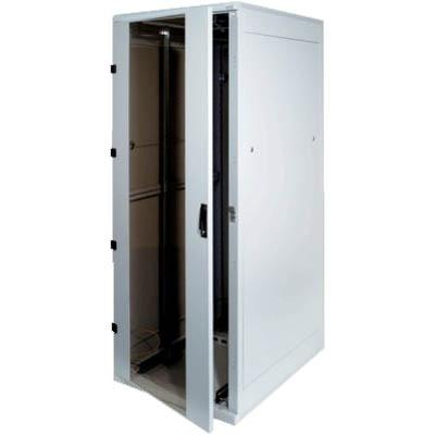 """Triton 19"""" rozvaděč stojanový 45U/800x1000, skleněné dveře"""