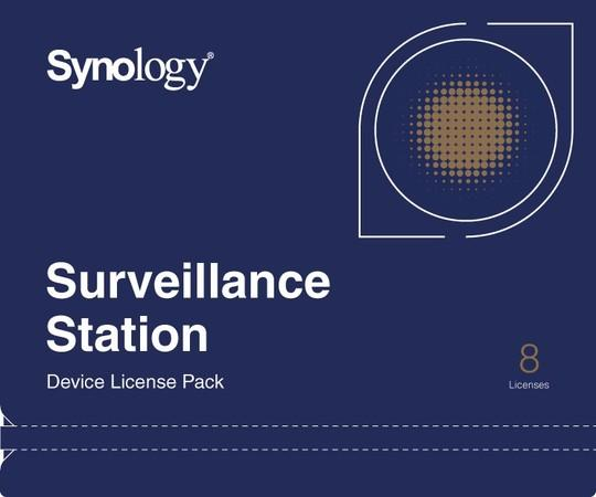 Synology Camera License Pack x 8pack, DEVICE LICENSE (X 8)
