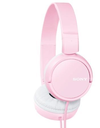 SONY sluchátka MDR-ZX110P, růžová